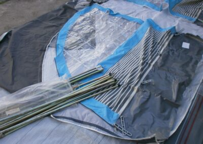 Předstan U – střecha a boky č.U1404 velikost 800 cm