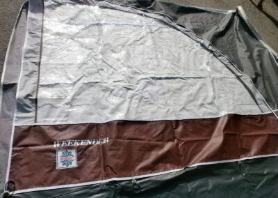 """Předstan č.24059 tvar """"U"""" střecha a boky délka 850 cm"""